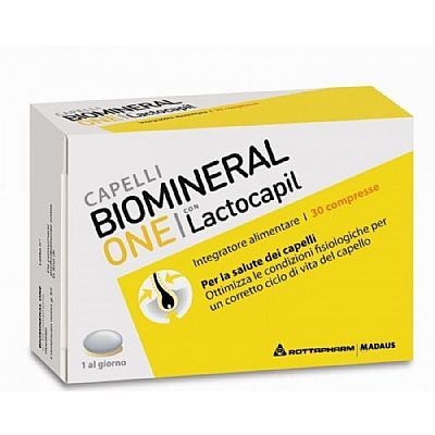 Biomineral One Lactocapil Plus 30 κάψουλες