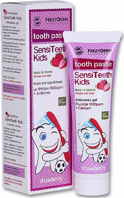 Frezyderm SensiTeeth Kids Toothpaste 1000ppm 50ml