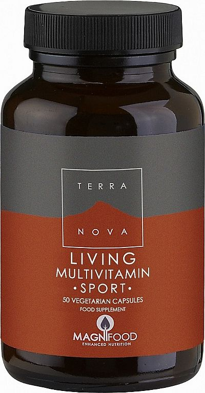 TerraNova Living Multivitamin Sport 50 φυτικές κάψουλες