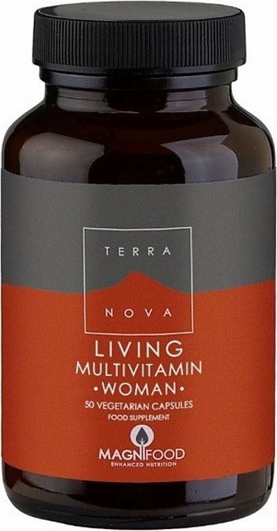 TerraNova Living Multivitamin Woman 50 φυτικές κάψουλες