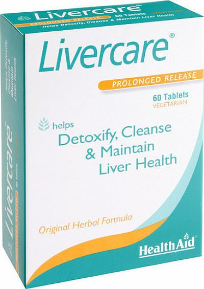 Health Aid Livercare 60 ταμπλέτες