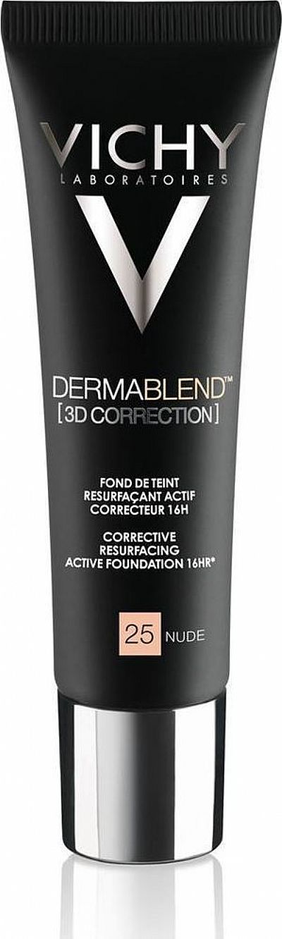 Vichy Dermablend 3D Correction Make-Up 25 Nude Spf25 30ml