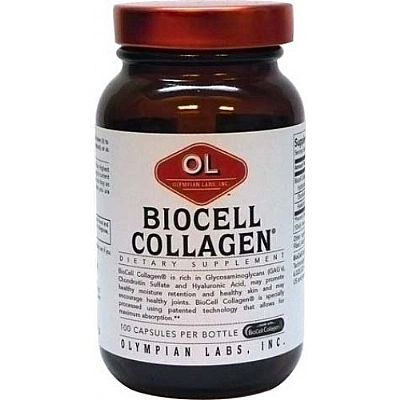 Olympian Labs Biocell Collagen 1500mg ,100caps