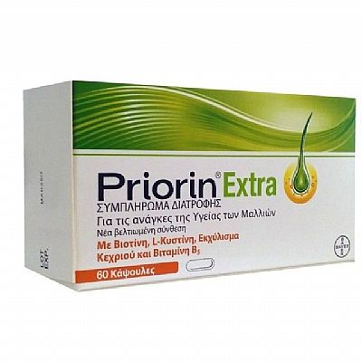 Bayer Priorin Extra 60 κάψουλες