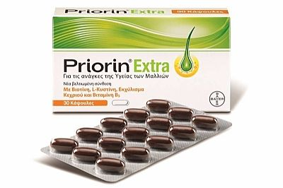Bayer Priorin Extra 30 κάψουλες
