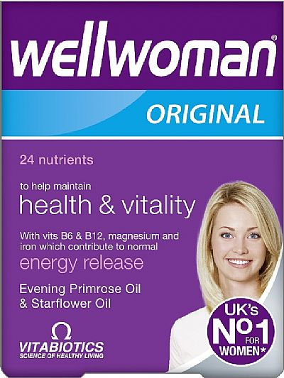 Vitabiotics Wellwoman Original,30 ταμπλέτες